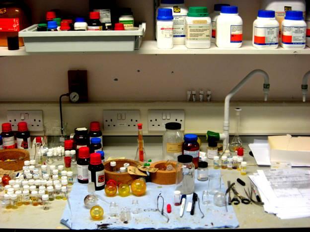 Рис. Лабораторный стол.